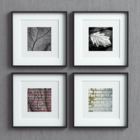 3D model picture frames set -21