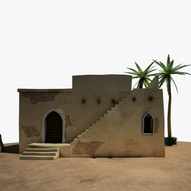 middle east house 3D