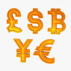 dollar currency symbol model