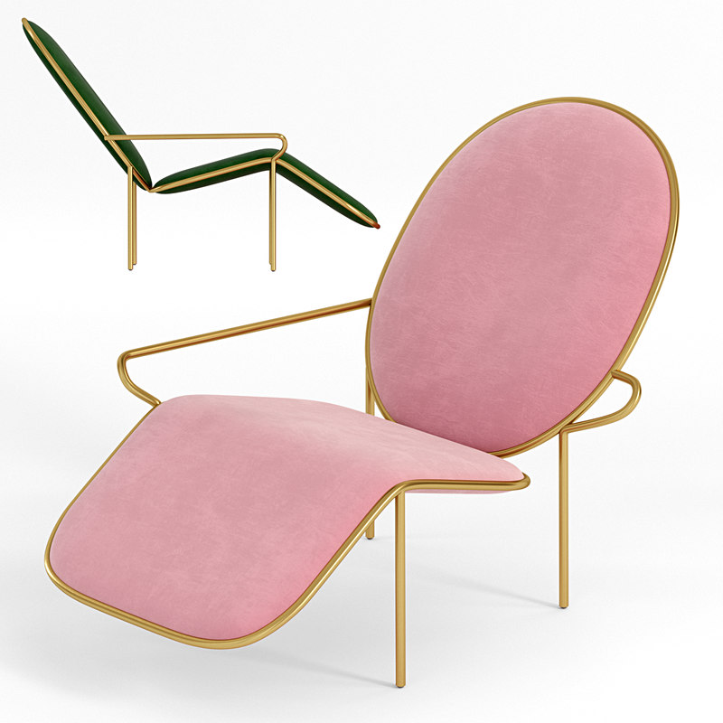 stay lounge chair 3D