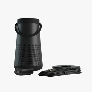 revolve bluetooth speaker 3D model