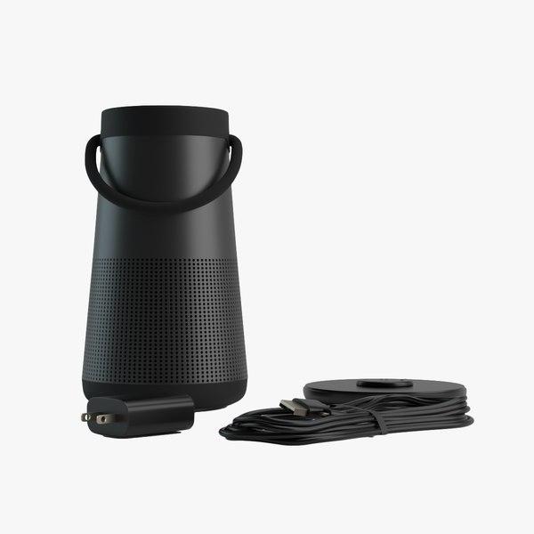 revolve bluetooth speaker 3D model