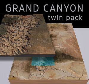 grand canyon 3D model
