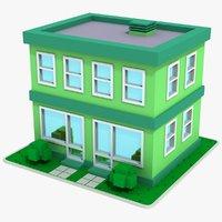 Cartoon House 8