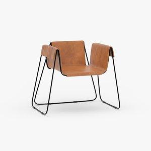 3D model stefania andorlini chair