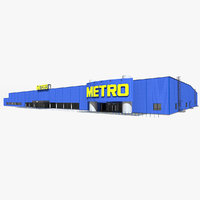 Metro Cash & Carry Hypermarket Simple