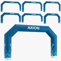 Angled inflatable arch Axion 800-1200