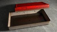 Tin can vintage rusty box