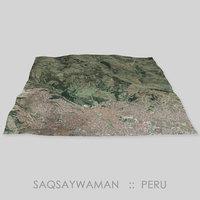 Saqsaywaman Megalithic Complex Area Terrain