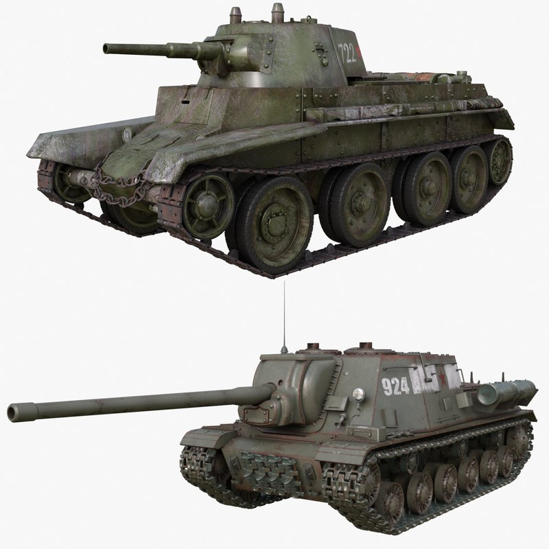 tank 002 3D model