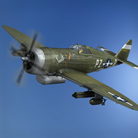 Republic P-47D Thunderbolt - Sweetie - PZ-R