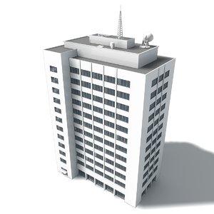 building l 3D model
