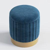3D eichholtz stool allegra roche