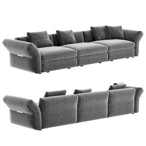 flexform newbridge sofa 3D model