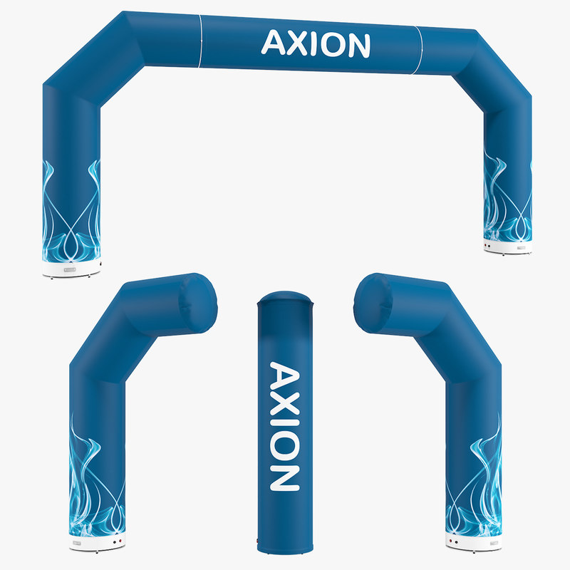 axion zip-off 800-80 inflatable 3D
