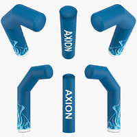 axion zip-off 1000-96 inflatable 3D model