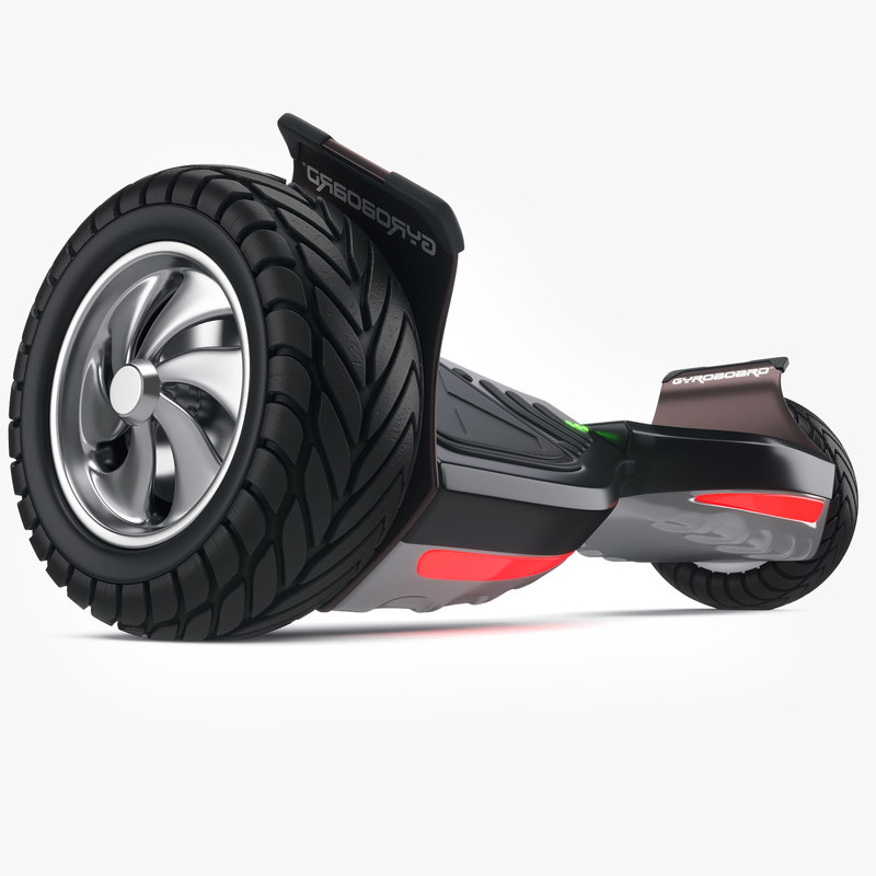 3D gyroscooter scooter model