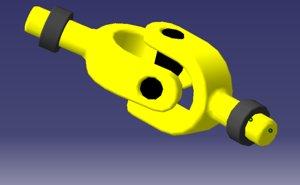 3D joint catia model