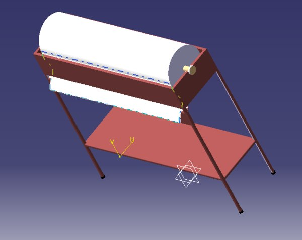 3D table roller