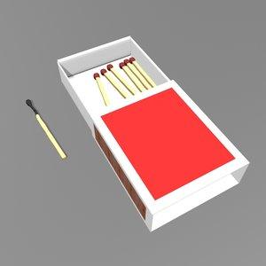 matchbox matchstick model