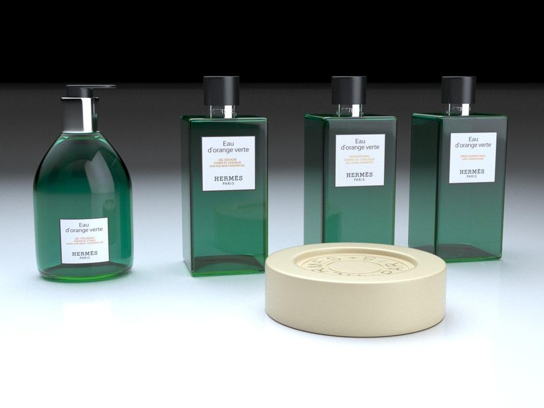 3D hermes bath goods
