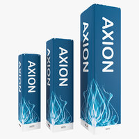 3D model axion block inflatable