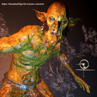 goblin monster 3D model
