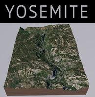 3D yosemite park