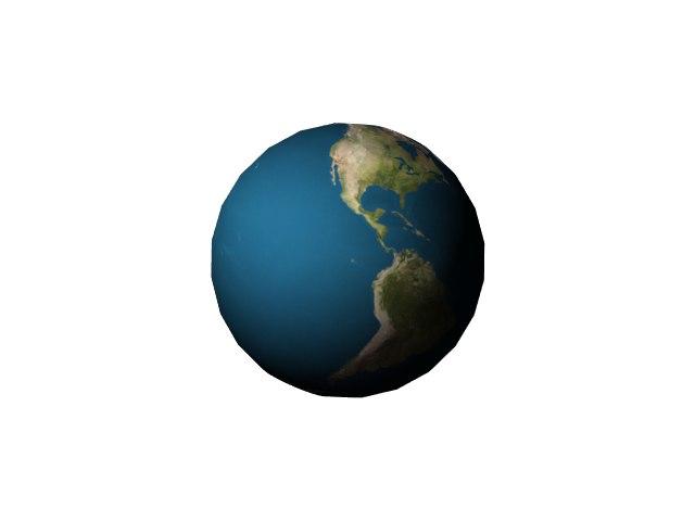 3D earth lightwave model