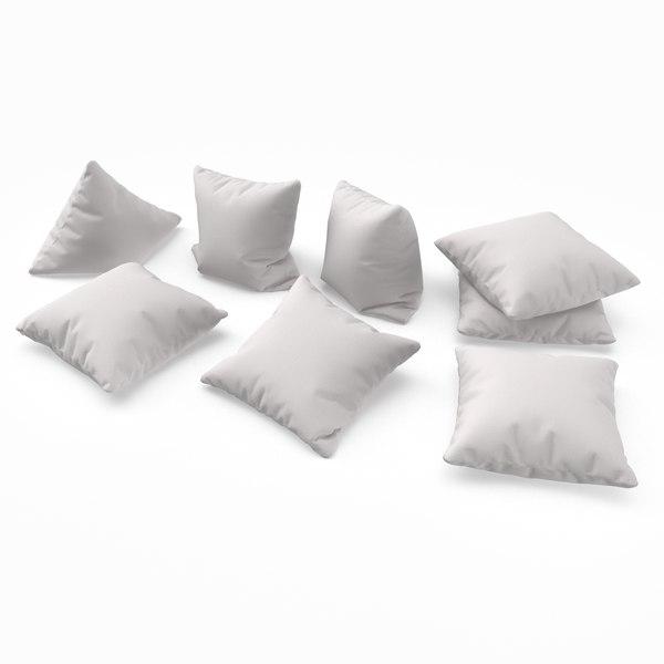3D cushions pbr