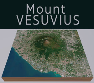 mount vesuvius model