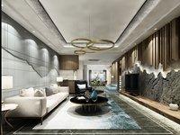 Modern living room (A001)