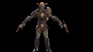 3D character berserker