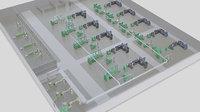 cigarette maker machines 3D model