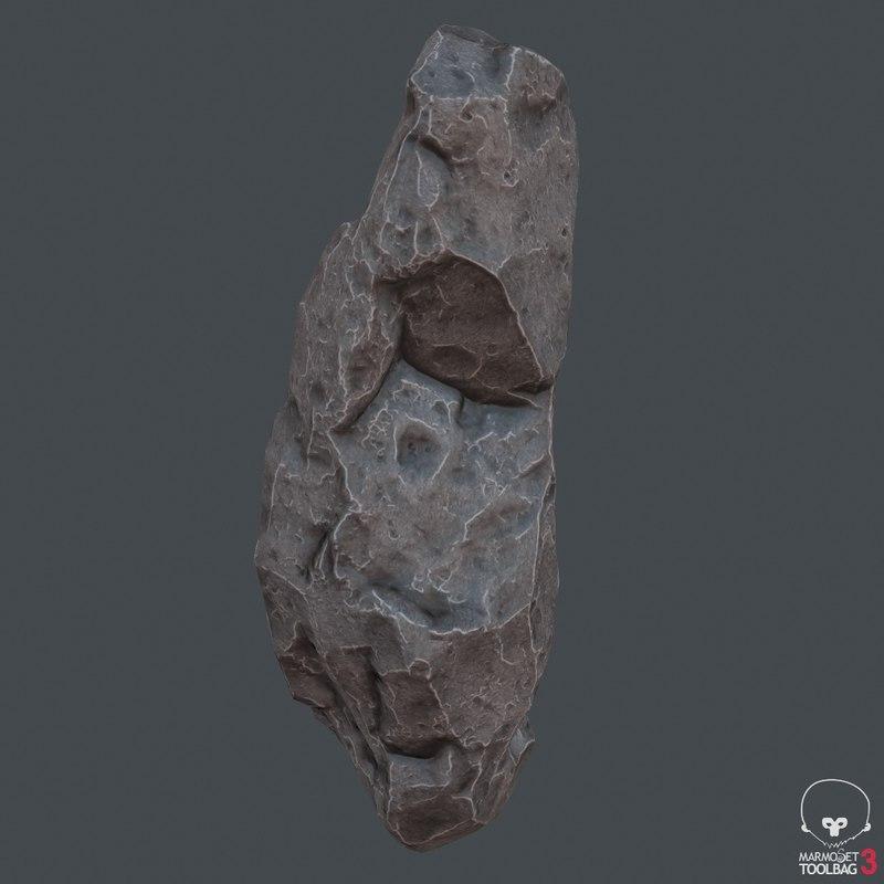 3D ready stone model
