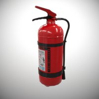 Fire extinguisher PBR model