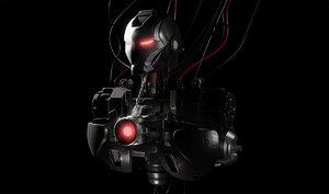 iron man cyborg model