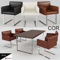 Chair and desk - Quant COR