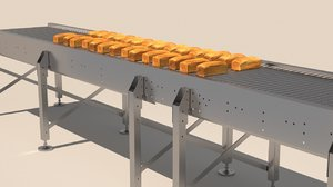 bread line 3D