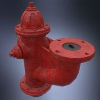 Fire hydrant monitor nozzle