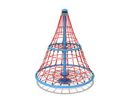 3D model climber rope playground