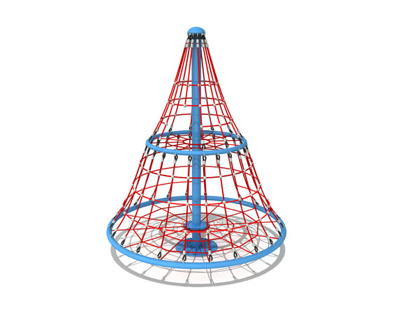 3D model climber rope playground