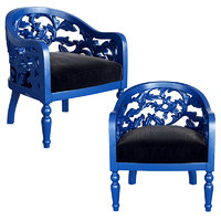 berger armchair monique 3D model