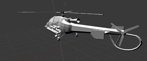 3D helicopter romania