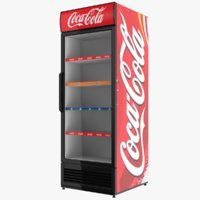 coca cola display 3D