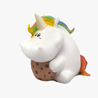 unicorn toy 3D model