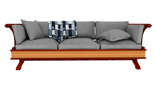 3D lanna style sofa
