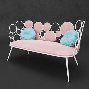 sofa saba italia model