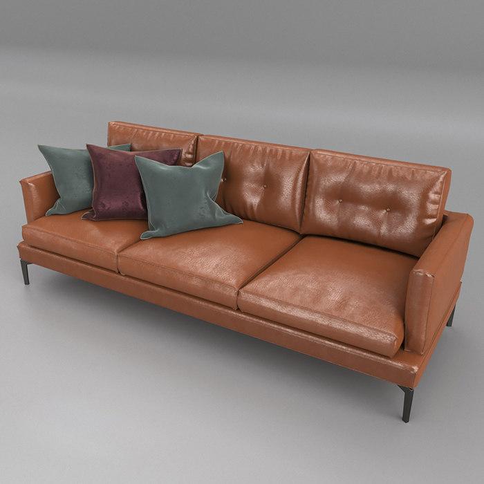 saba sofa essentiel 3D model