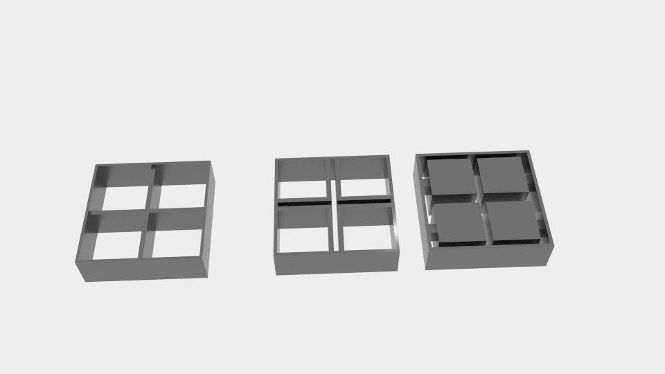 window cookie cutter 3D